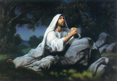 38 Then saith he unto them  Jesus Praying In Gethsemane Lds
