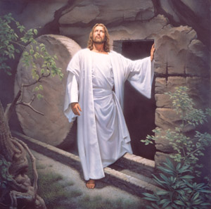 JesusStandsByHis Tomb