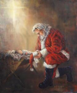 santa-and-baby-jesus