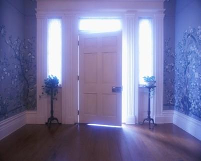 Doorway with Open Door at Greenwood Plantation