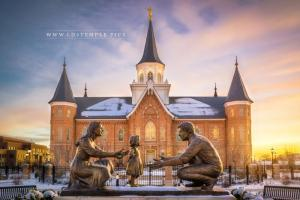 provo-city-center-temple-sunset-sculpture-closeup